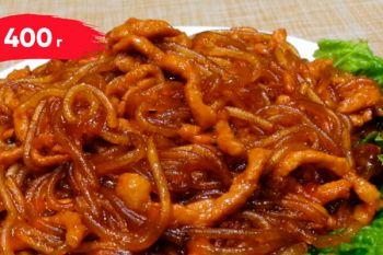Крахмальная лапша со свининой